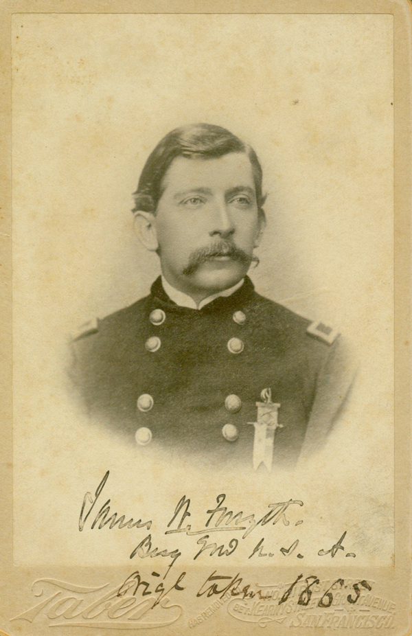 UW Libraries receives family papers of General James W. Forsyth; Includes 732 Civil War letters penned to his wife, Lizzie