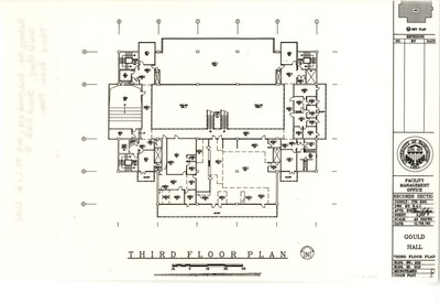 Gould Hall Floor Plan