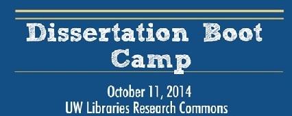 Dissertation Boot Camp logo
