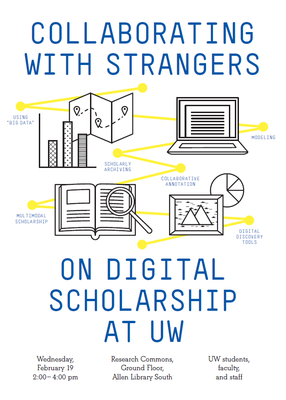 Digital Scholarship Postcard