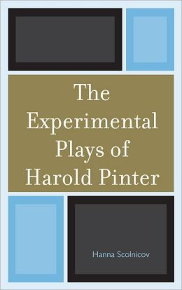 experimental plays of harold pinter