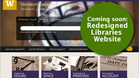 Coming soon: redesigned Libraries website