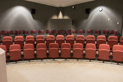 Allen Auditorium seats
