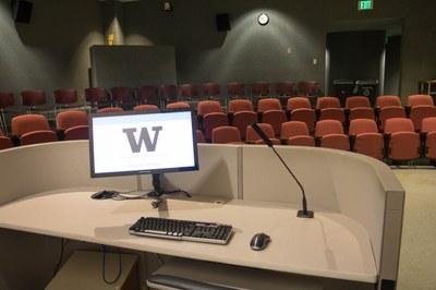 Allen Auditorium view from podium