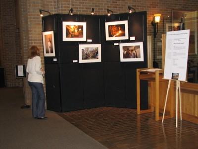 Odegaard North Lobby Exhibit Space