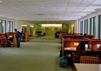 Allen Library 3rd Floor Bridge A