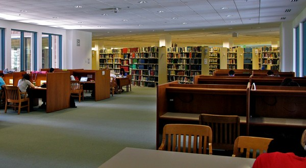 Allen Library 3rd Floor Bridge B