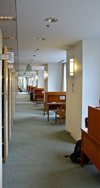 Allen Library South Carrels B