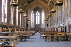 Reading Room in the Suzzallo Library