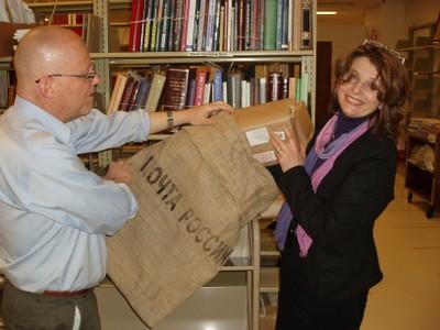 International Studies materials arrive