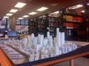 Model of Downtown Seattle in the BE Library