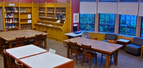 Music Library Upstairs