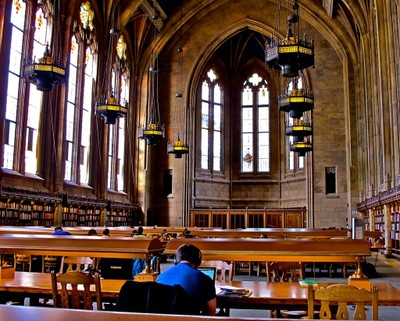 Reading Room in Suzzallo Library C
