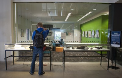 Research Commons Lobby Exhibit