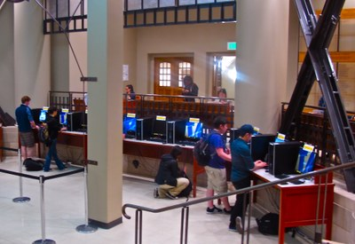 Suzzallo 1st Floor Octagon PCs
