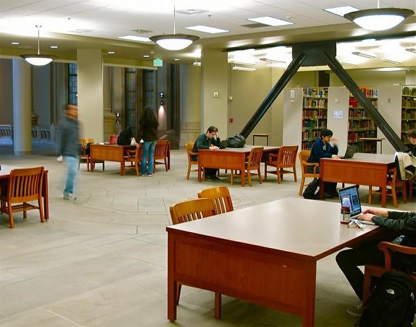 Suzzallo 3rd Floor Octagon Study Area A