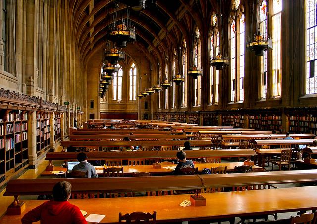 Uw Library Study Room