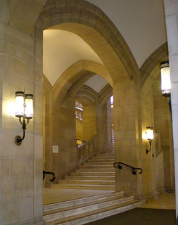 Suzzallo Interior Arches and Stairs:  Curtis Cronn