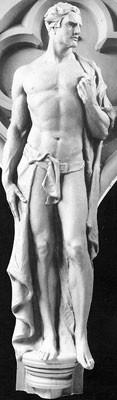 Suzzallo Library Facade Figure