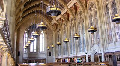 Reading Room in Suzzallo Library