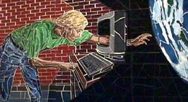 Through the Computer