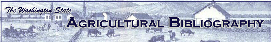 Agricultural Bibliography site banner