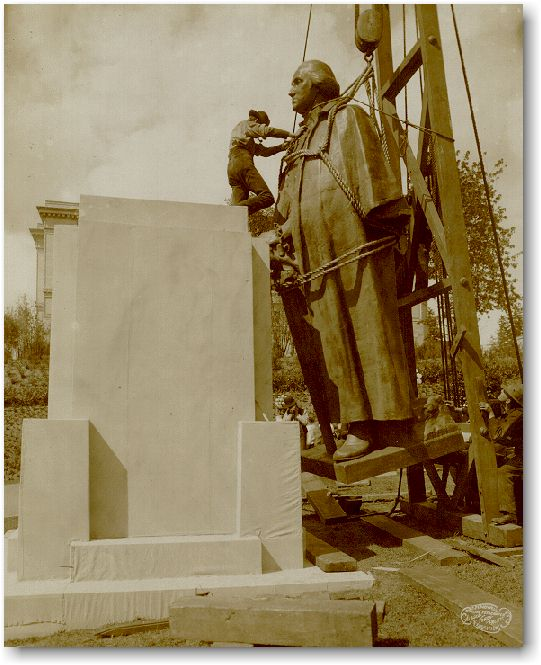 George monument