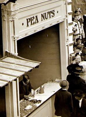 Peanut stand