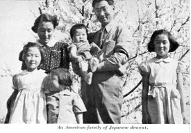 Japanese American family