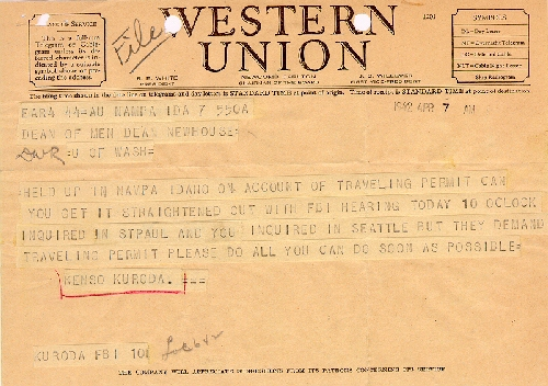 A western union picture