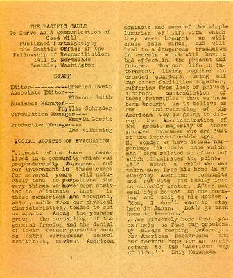 Page 3, Pacific Cable Vol. 1, No. 12 -- 16 Dec. 1942