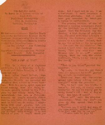Page 3, Pacific Cable Vol. 1, No. 14 -- 18 Jan. 1943