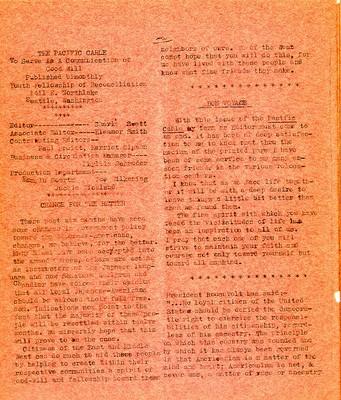 Page 2, Pacific Cable Vol. 1, No. 16 -- 31 Mar. 1943