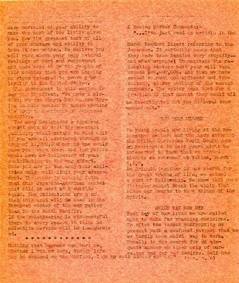 Page 5, Pacific Cable Vol. 1, No. 16 -- 31 Mar. 1943
