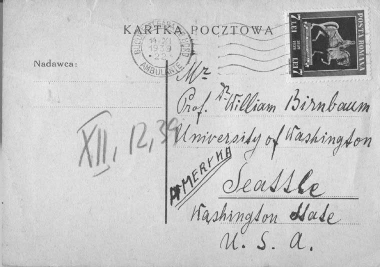 X.17.1939 envelope