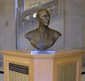 Harry Bridges bust