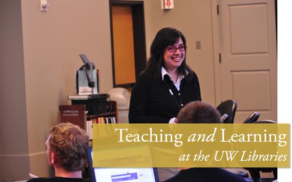 Emily Keller teaching